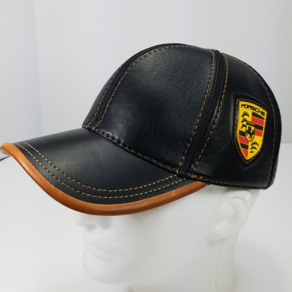 🚖Brand New Porsche Leather AllSeason Baseball Cap abe6b8efd8cf